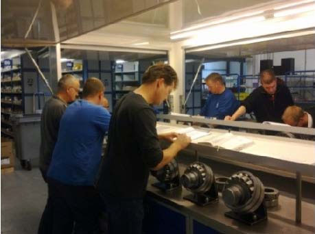 SKF lagertraining